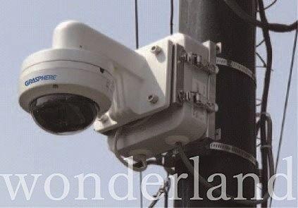 街中にある防犯カメラ!
