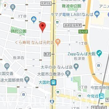 ワンダーランド本店の案内地図