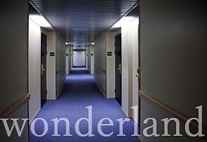 内廊下のマンション